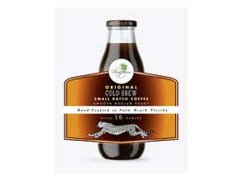 #93 for Design a CLASSY EYE CATCHING Bottle Label for cold brew bottle by masudrana25860