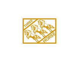 nº 52 pour Design three horse logo's par Taslijsr