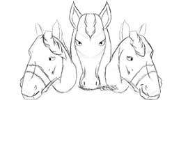 nº 38 pour Design three horse logo's par LuckasDesigner
