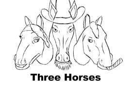 nº 41 pour Design three horse logo's par LuckasDesigner
