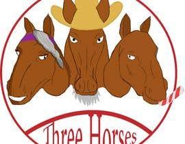 nº 46 pour Design three horse logo's par LuckasDesigner