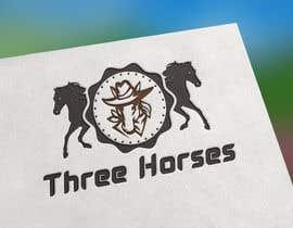 nº 39 pour Design three horse logo's par anafshaariar9