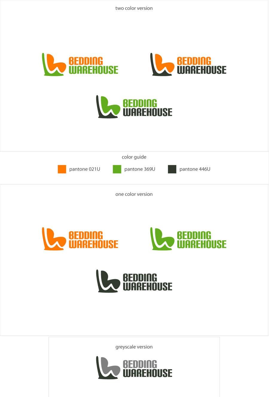 Kilpailutyö #                                        104                                      kilpailussa                                         Logo Design for Bedding Warehouse