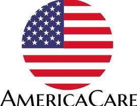 #15 for A simple logo with American Flag behind. Logo name: Americacare by yaciraaguiar