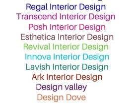 #170 cho Create a Interior Design Film Name bởi sharif106