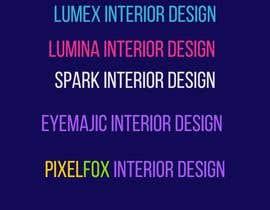 #175 cho Create a Interior Design Film Name bởi sharif106