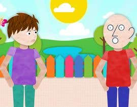 Afervil tarafından We need four  2D Simple Character Animations for Children, Trial part of a Long Term Project... için no 12
