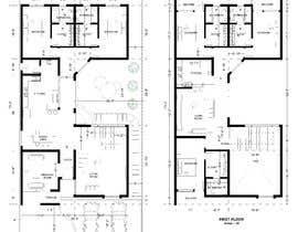 nº 51 pour Build me 2D Floor Plan for 2 Floor house! par muftiakbar