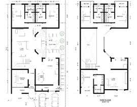 nº 54 pour Build me 2D Floor Plan for 2 Floor house! par muftiakbar