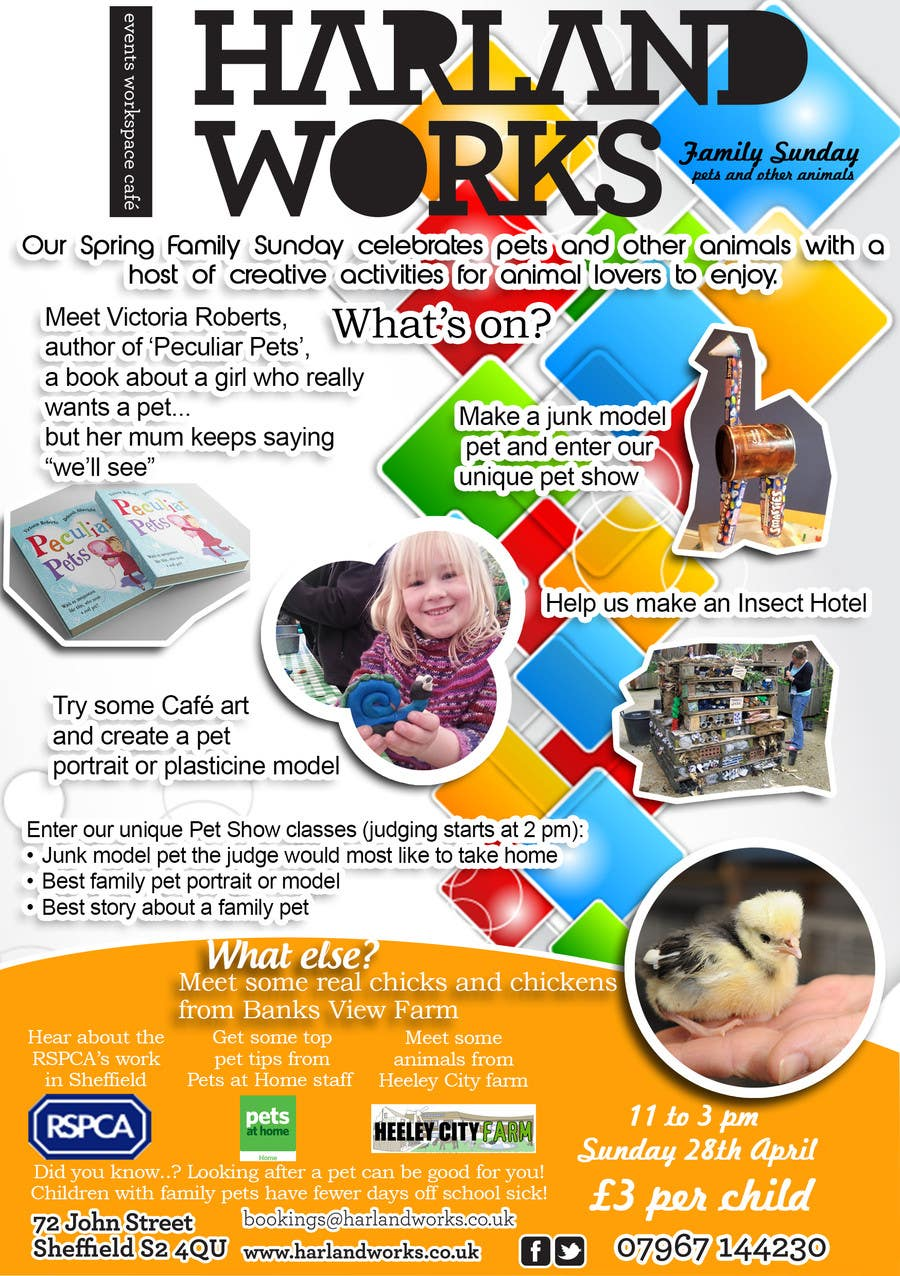 Contest Entry #                                        13                                      for                                         Flyer Design for Harland Works Spring Family Sunday