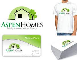 DesignMill tarafından Logo Design for Aspen Homes - Nationally Recognized New Home Builder, için no 987