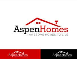 Grupof5 tarafından Logo Design for Aspen Homes - Nationally Recognized New Home Builder, için no 314
