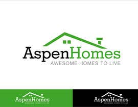 Grupof5 tarafından Logo Design for Aspen Homes - Nationally Recognized New Home Builder, için no 315