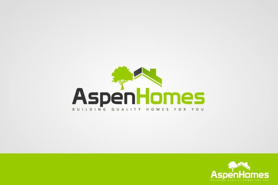 Contest Entry #                                        988                                      for                                         Logo Design for Aspen Homes - Nationally Recognized New Home Builder,