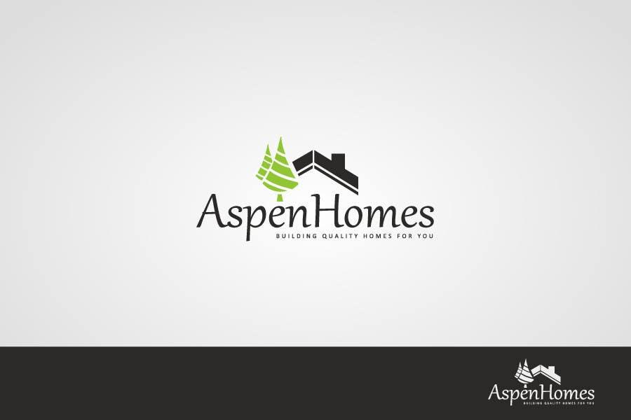 Contest Entry #                                        802                                      for                                         Logo Design for Aspen Homes - Nationally Recognized New Home Builder,