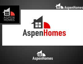 saaraan tarafından Logo Design for Aspen Homes - Nationally Recognized New Home Builder, için no 90