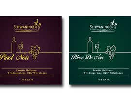 #397 for designed a label for a wine bottle by Nabil085