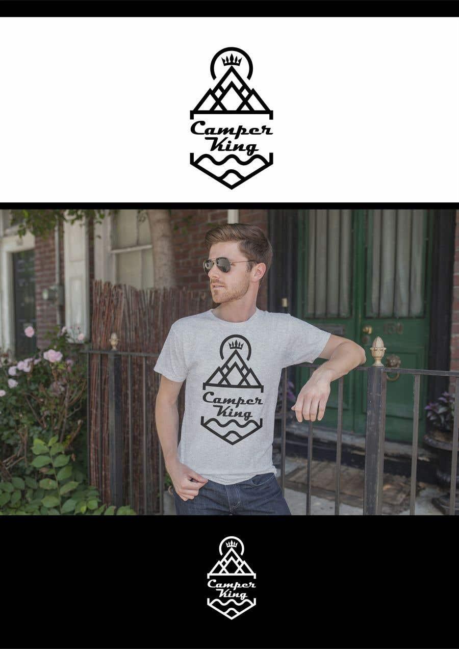 Penyertaan Peraduan #                                        134                                      untuk                                         Camper King Merchandise