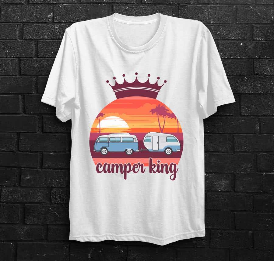 Konkurrenceindlæg #                                        192                                      for                                         Camper King Merchandise