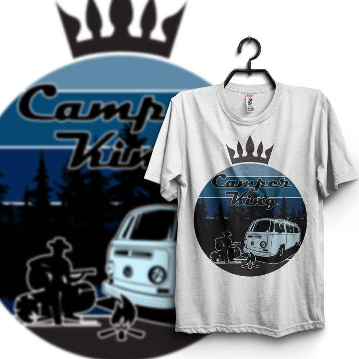 Penyertaan Peraduan #                                        184                                      untuk                                         Camper King Merchandise