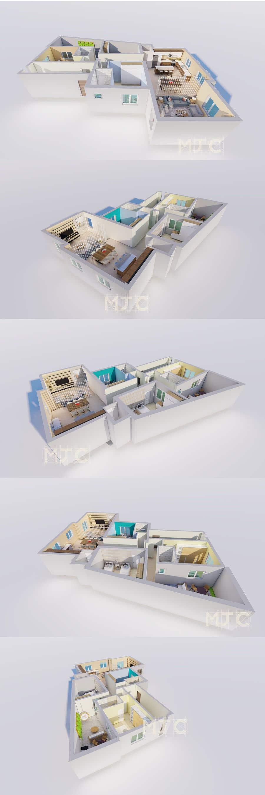 Proposition n°                                        6                                      du concours                                         3d Design- Interior Design home ideas