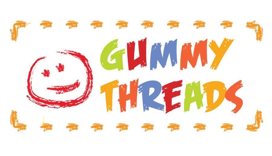 Contest Entry #12 for Logo Design for 'GUMMY THREADS'