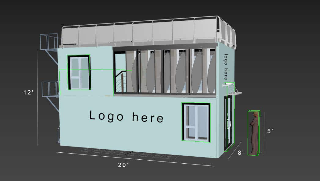Penyertaan Peraduan #                                        11                                      untuk                                         Design a Surfboard Locker for the Sharing Economy