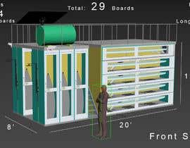 #22 untuk Design a Surfboard Locker for the Sharing Economy oleh ptriantafillis