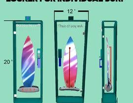 nº 3 pour Design a Surfboard Locker for the Sharing Economy par panjamon