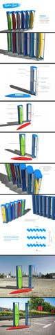 Icône de la proposition n°                                                19                                              du concours                                                 Design a Surfboard Locker for the Sharing Economy