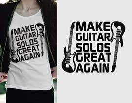 #22 for Tee Shirt Design - Guitar af samiabaly116