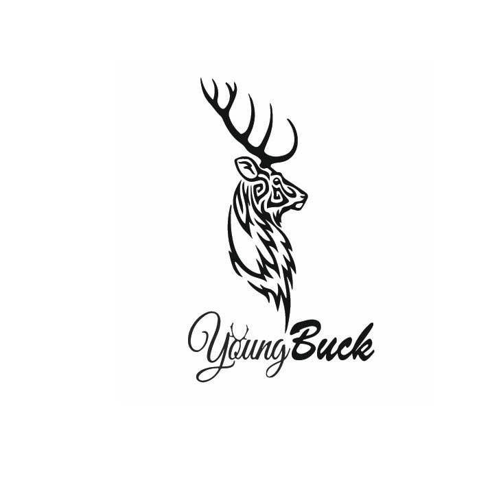 Contest Entry #                                        38                                      for                                         Buck antler logo design
