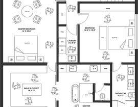 #28 para Reimagining the Floor Plan for My Home's Second Floor por dhanashree94
