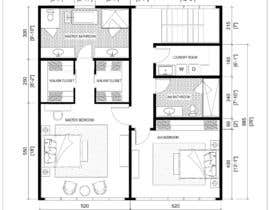 #29 para Reimagining the Floor Plan for My Home's Second Floor por Inpro74