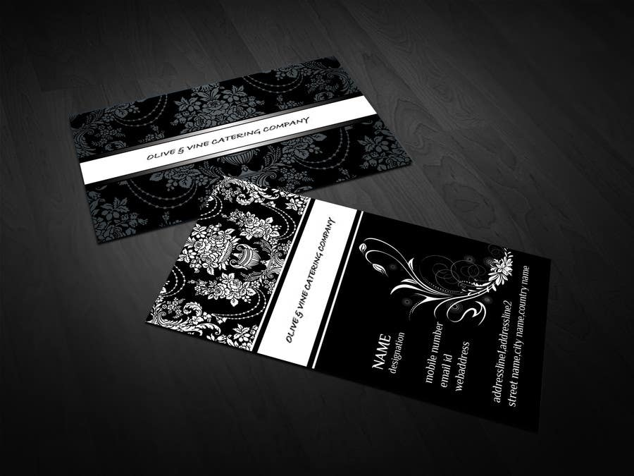 Contest Entry #14 for Business Card Design for Catering Company