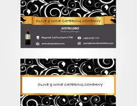 #33 para Business Card Design for Catering Company por preethamdesigns
