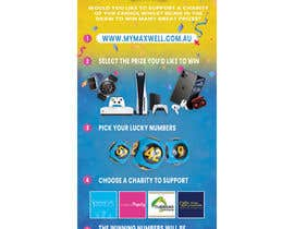 #232 untuk Help design a flyer for a Charity Lotto company oleh teameez