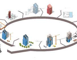 #5 for Life cycle building drawing by imranarch1998