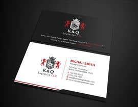 #138 for Business Card Design.... K and Q logistics LLC --- Logo Included by Uttamkumar01