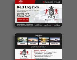 #179 for Business Card Design.... K and Q logistics LLC --- Logo Included by debasreegraphics