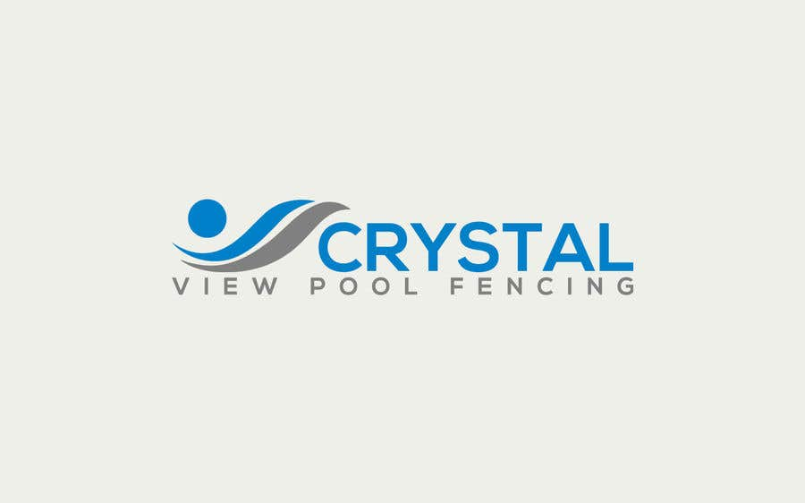 Contest Entry #                                        128                                      for                                         New Business Logo - Crystal View Pool Fencing