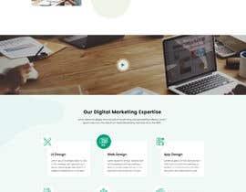 #32 для Homepage mockup for digital agency that serves nonprofits - DESIGN ONLY от pixelmarketo