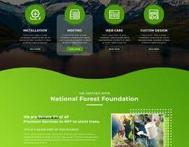 #40 для Homepage mockup for digital agency that serves nonprofits - DESIGN ONLY от mdziakhan