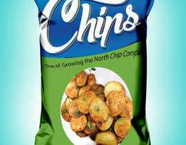 #14 for Need a packet of chips designed. Front and back. by monirul39