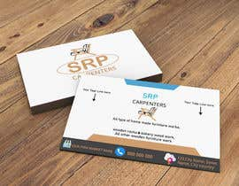 #111 untuk Build me an visiting card with simple logo on it. oleh Selinaaqter