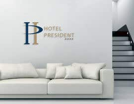 #112 untuk Creative Logo for Hotel President oleh brabeya1997
