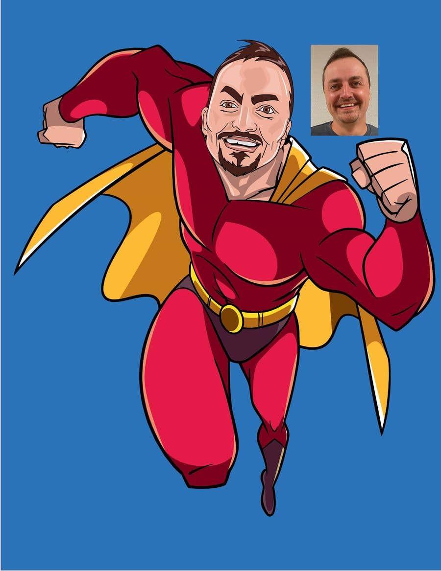 Bài tham dự cuộc thi #                                        48                                      cho                                         SUPERHERO - Convert photo to superhero image