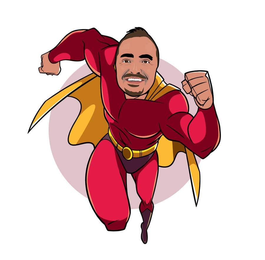 Penyertaan Peraduan #                                        7                                      untuk                                         SUPERHERO - Convert photo to superhero image