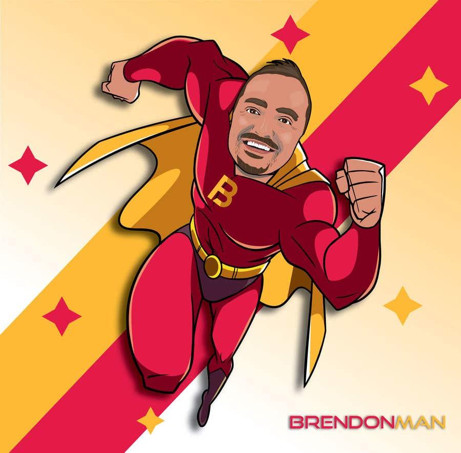 Penyertaan Peraduan #                                        37                                      untuk                                         SUPERHERO - Convert photo to superhero image