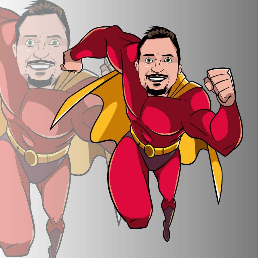 Bài tham dự cuộc thi #                                        50                                      cho                                         SUPERHERO - Convert photo to superhero image